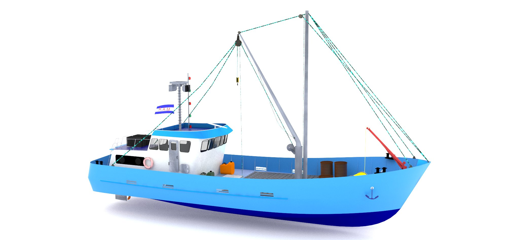 Fishing Boat 21 M